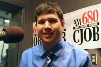 Professional headshot of Winnipeg-based creative professional and web developer Andrew McCrea