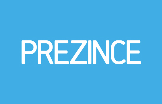 Prezince.com logo and brand