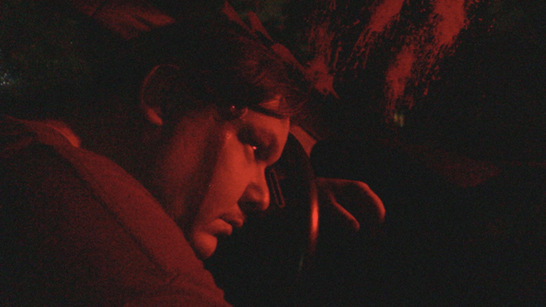 Promotional image for Psycho City, featuring Matt Allen as a psycho cab driver. Taken by Andrew McCrea.